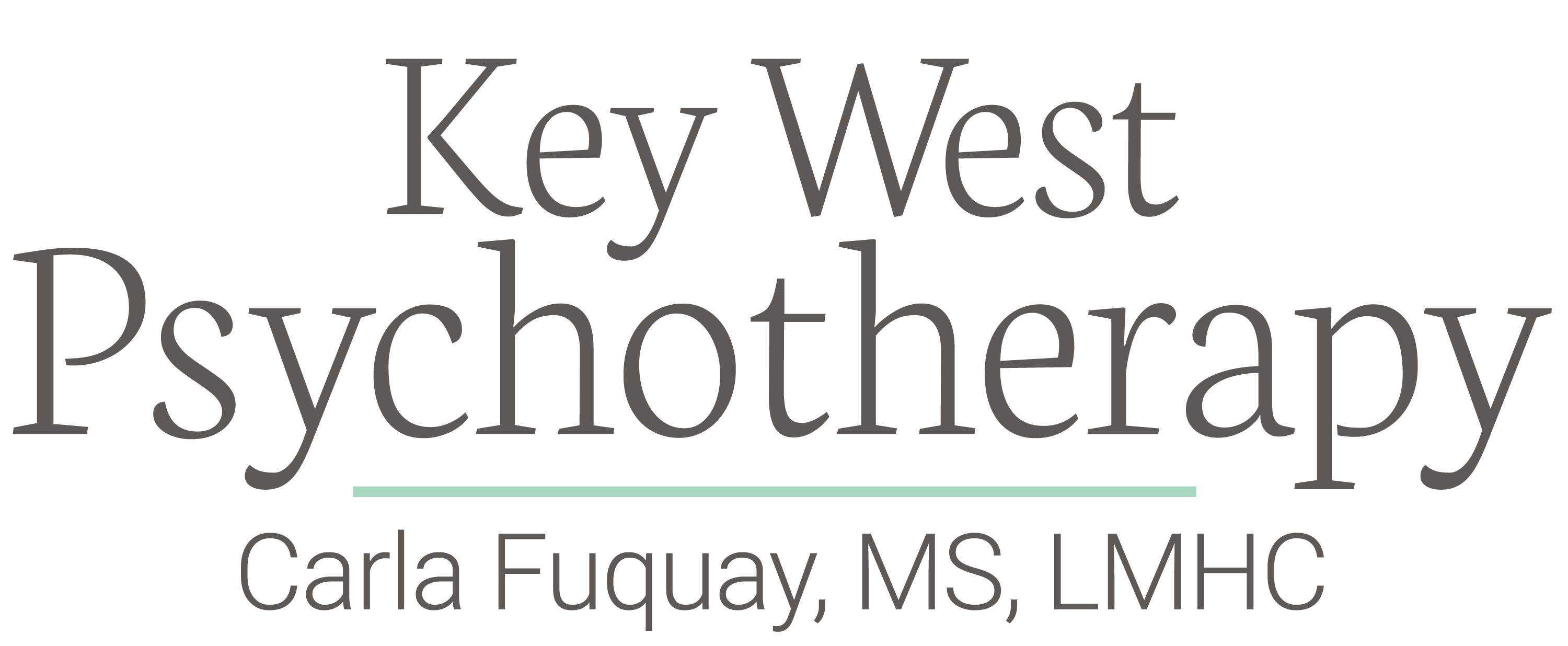 Key West Psychotherapy Carla Fuquay, MS, LMHC